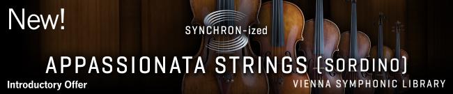 New: SYNCHRON-ized Appassionata Strings (sordino)