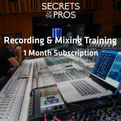 Recording & Mixing Training - 1 Month