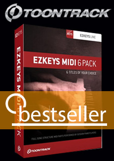 Toontrack EZ Keys 6pack bundle
